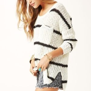 Free People Greenwich Village Pullover Sweater